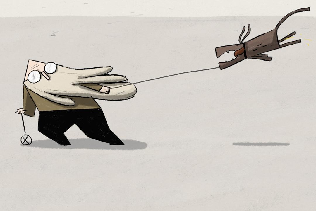 Ur den animerade kortfilmen Wind