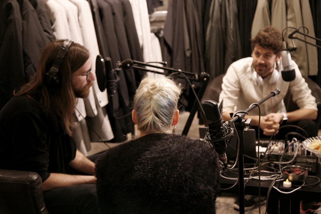 Lamour Podcast Live på Fico